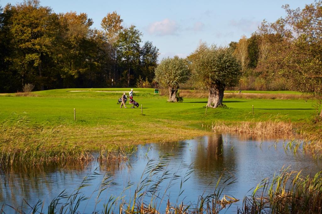Prachtige holes op de Golfbaan Zelle in de Achterhoek