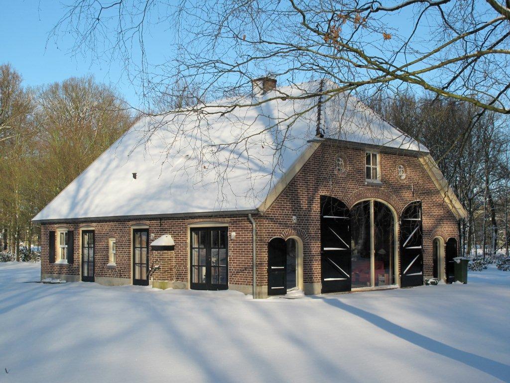 Vakantieboerderij in de Achterhoek in de winter